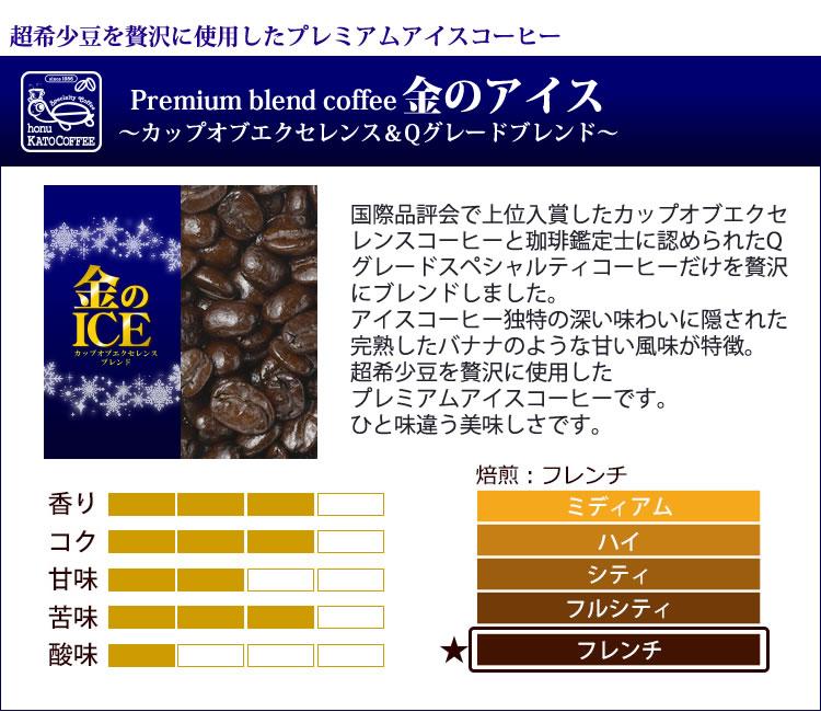 超希少豆を贅沢に使用したプレミアムアイスコーヒー